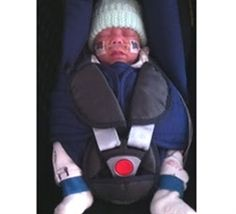 Tiny Traveller - insert for car seats and baby buggies for little babies - very useful
