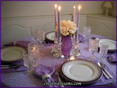 A Tablescape for Ryleigh