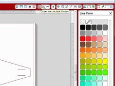How To Make A Cutting File from a Template in Silhouette Studio software (shows different options)