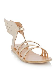 Winged sandals.