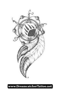 Native American Dreamcatcher Tattoo 01 - http://dreamcatchertattoo.net/native-american-dreamcatcher-tattoo-01/