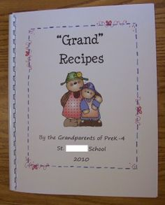 """Grand"" Recipes gift"