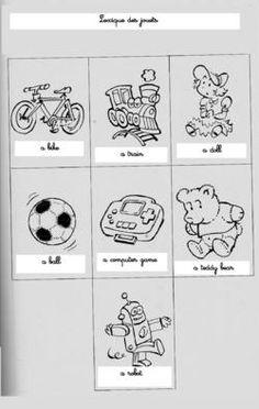 lexique jouets
