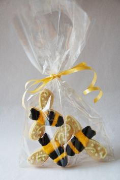 ≗ The Bee's Reverie ≗ Bee Cookies Party Favor