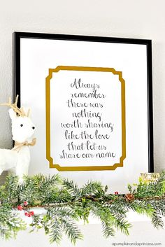 Custom Framed Family Quote {Printable} @crystalowens  #MichaelsMakers