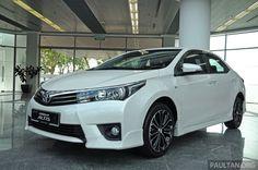 The 2014 Toyota Corolla Altis 2.0 V