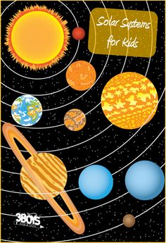 Solar Systems for Kids - cool ideas to learn!