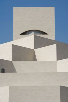 Museum of Islamic arts in Doha, Qatar, arch. I. M. Pei.