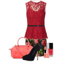 """""""Rose Garden"""" by sharon-grisnich on Polyvore"""