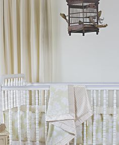 """""""The bird cage mobile is unexpected and delicate.#mobile #nursery"""" @Justine Barron **see Chad??"""