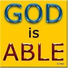 God is Able
