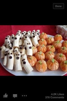 Cute Halloween appetizers!