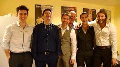 Happy lads!