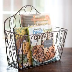 Prop Closet Tuesday - Giveaway 8.14  Click Pic to Enter to Win our French Wire Convertible Basket http://susiev.store.willowhouse.com/search.aspx?keyword=french