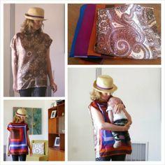 repurpos silk, recycl fashion, recycled fashion, top diy, silk scarf