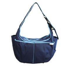 This bag is on its way to me! It's got a built in nursing surface for our long plane ride home!