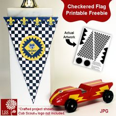 Checkered flag freebie