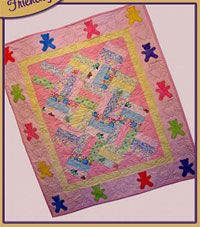 Sweet Dreams Quilt Pattern by 2 Easy Designs at KayeWood.com. This warm and snuggly jelly-roll-friendly project makes a wonderful blanket for a special someone. The strips can be cut from flannel or cotton and sewn together quickly to make a quilt that will become well loved and a treasure in the years to come. http://www.kayewood.com/item/Sweet_Dreams_Quilt_Pattern/2954 $9.95