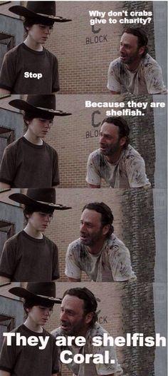 Rick Grimes Dad Jokes The Walking Dead