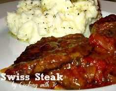 Swiss Steak by Cooking with K | Kay Little