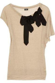 Bow-embellished Shirt
