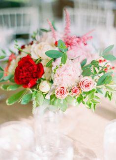 Gorgeous centerpiece floral centerpieces, color, red centerpiec