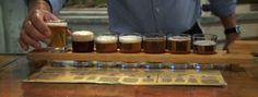 Guy Fieri enjoyed some of the locally brewed selections that the Weeping Radish has to offer!