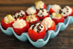 Cannoli Strawberries