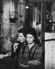 Sophia Loren, Marcello Mastroianni - Yesterday, Today, and Tomorrow (Vittorio De Sica, 1963)  Photo: Peter Basch