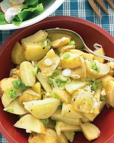Tangy Potato Salad with Scallions Recipe