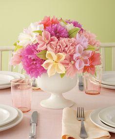 Vintage Flower Paper Flower Craft Kit | Martha Stewart Crafts