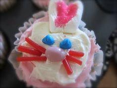 How To Make Bunny Cupcakes - adorable!