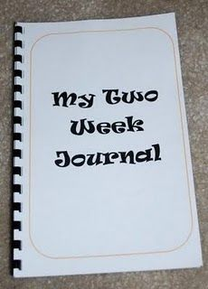 Bear Achievement 8f- Keep a journal for 2 weeks.