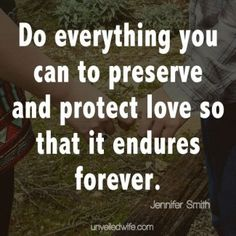 Love This! Preserving And Protecting Love -