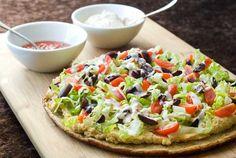 Gluten-Free Falafel Pizza