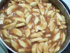Freezer Apple Pie Filling
