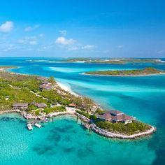 Fowl cay exumas bahamas caribbean all-inclusive resort (inclusive personal speed boat)