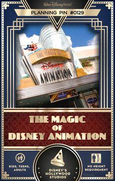Walt Disney World Planning Pin: The Magic of Disney Animation