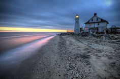 Cove Point Lighthouse, Chesapeake Bay, Maryland