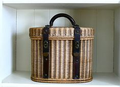 late 19th century French basket
