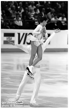 1989 Long Program @ World Championships in Paris, France. Katia Gordeeva & Sergei Grinkov