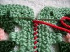▶ Simple & Sensational™ - #1 Join Granny Squares with Whipstitch Seam & Weave Seam - YouTube