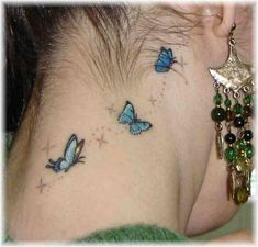 tatoo de borboleta