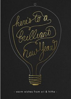 Here's to a brilliant new year!