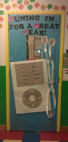 My back to school classroom door decor!