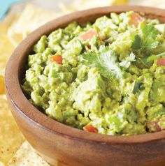Dips are always a hit at picnics. Why not make guacamole?