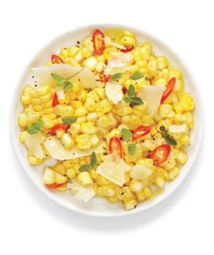 Corn Salad With Parmesan & Chilies