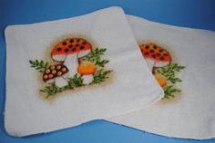 Merry Mushroom Dishcloths