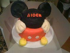 mickey cake, mous cake, cake idea, cake design
