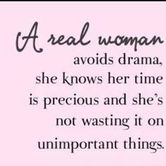 A real woman... well-said